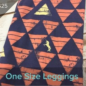 3/$20 new LuLaRoe OS leggings - UNICORNS